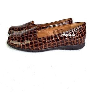 Comfortview Liesa Shoes Patent Leather Croc Sz 9W